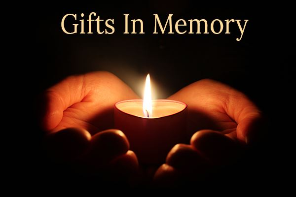 Gifts In Memory